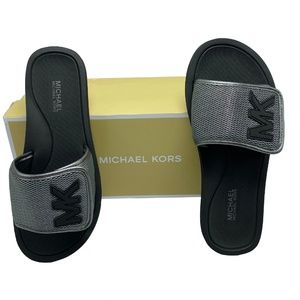 MICHAEL KORS Women's MK Mesh Slide